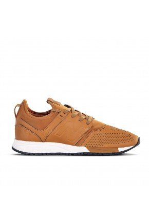 tenis new balance 247 casual masculino marrom hyped 91