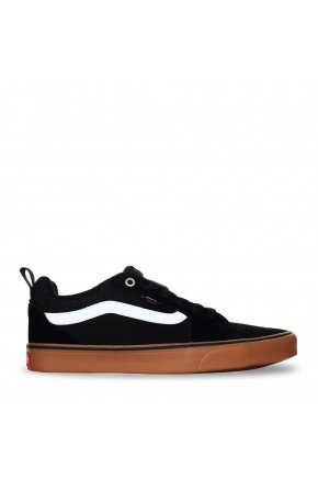 tenis vans mn filmore suede canvas black gum hyped91
