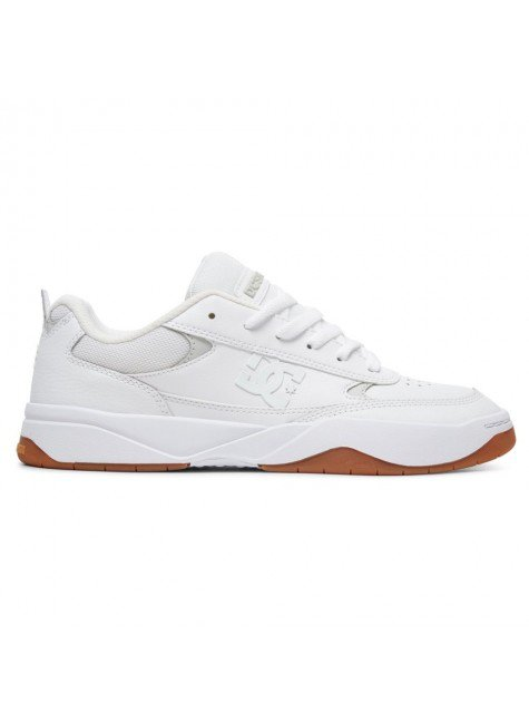tenis dc shoes penza branco white whitw gum hwg hyped 91
