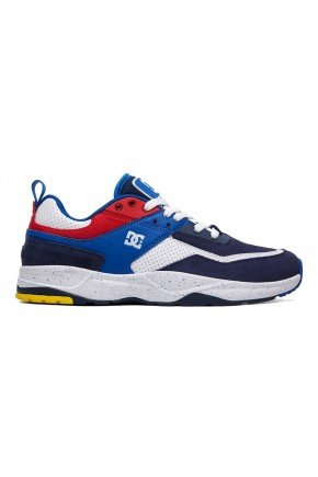 tenis dc shoes e tribeka se masculino black bkue red hyped 91