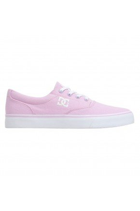 tenis dc shoes new flash peach parfait rosa branco hyped 91