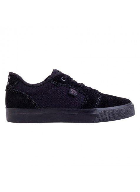 tenis dc shoes anvil la preto black black black hyped 91