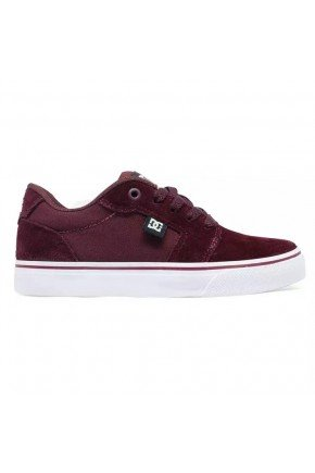 tenis dc shoes anvil la marron bordo masculino hyped 91 2