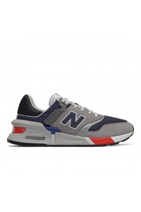 tenis new balance 997 sport casual cinza azul vermelho hyed 91