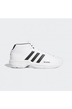 tenis adidas pro model 2g branco preto hyped 91