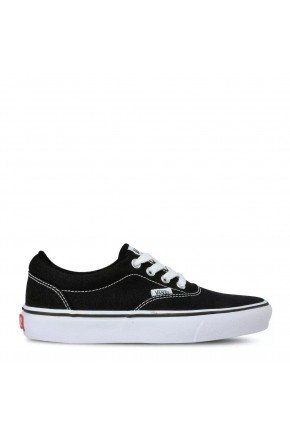 tenis vans doheny canvas black white hyped 91