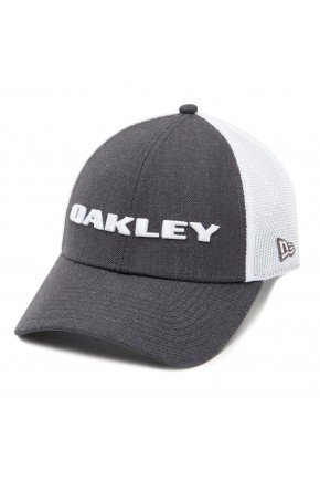 Bon Oakley Aba Curva Heather New Era Hat Cinza Graphite