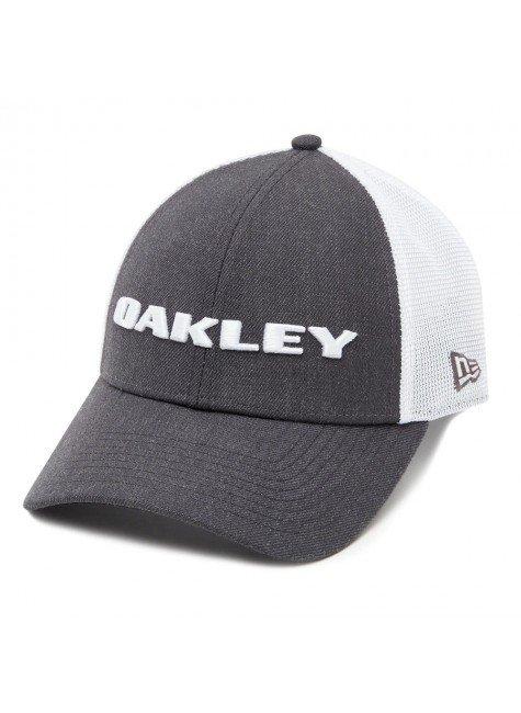 Bon Oakley Aba Curva Heather New Era Hat Cinza Graphite