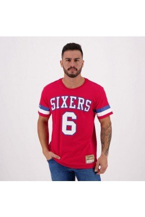 camiseta nba erving 6 philadelphia 76ers sixters mitchell ness hyped 91