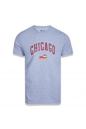 camiseta nba chicago bulls new era core food state hyped 91