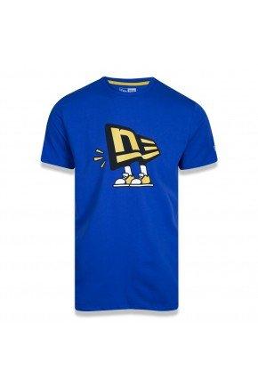 camiseta new era core flag dude azul amarelo hyped 91