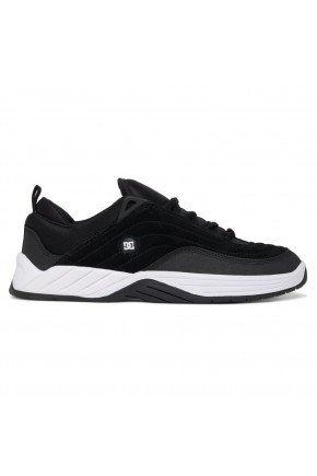 tenis williams slim dc shoes preto e branco hyped 91