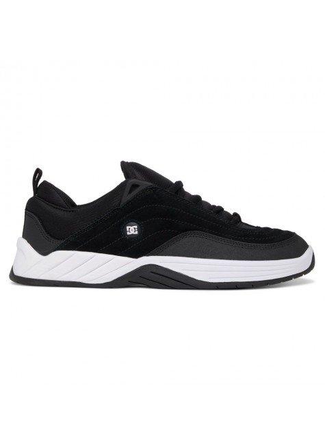 tenis williams slim dc shoes preto e branco hyped 91