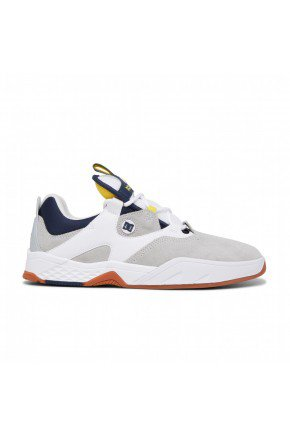 TNIS DC SHOES KALIS WHITE GREY YELLOW  HYPED 91