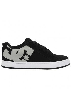 tnis dc shoes court graffik tx preto e branco  hyped 91