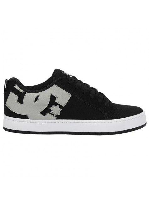 tnis dc shoes court graffik tx preto e branco  hyped 91