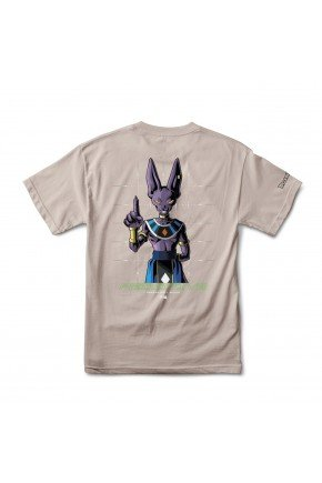 camiseta primitive shadow beerus safari marrom hyped 91 2