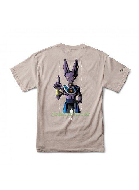 camiseta primitive shadow beerus safari marrom hyped 91 2