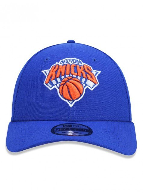 bone new era 9forty nba new york knicks aba curva azul laranja hyped 91 2