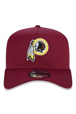 bone new era 9forty a frame trucker nfl washington redskins core taping hyped 91 2