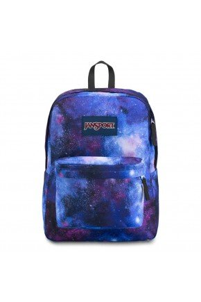 mochila jansport superbreak deep space hyped 91