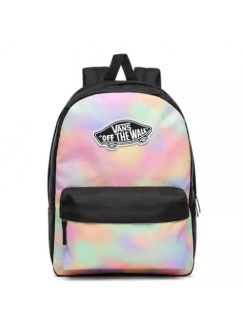 Mochila Vans Realm Backpack Aura Wash Black VN0A3UI6V1F  6