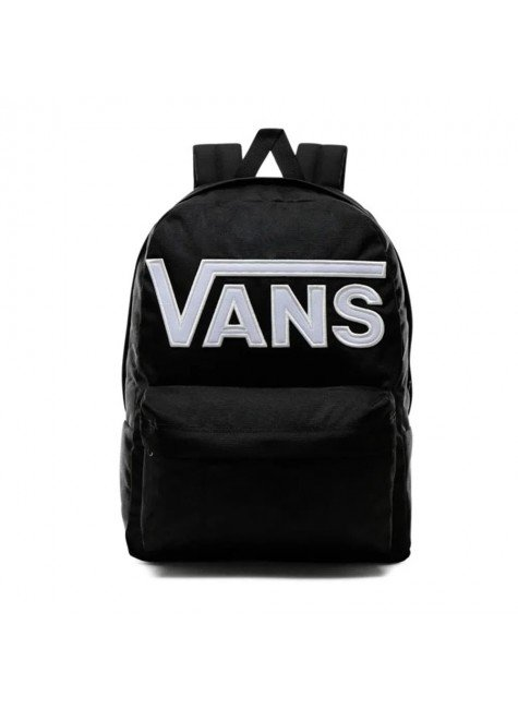 mochila vans old skool iii backpack preto branco hyped 91