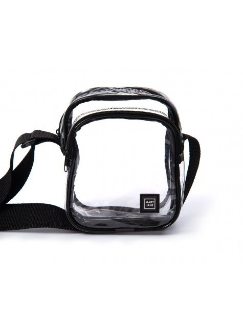 bolsa shoulder bag mary jane transparente hyped 91