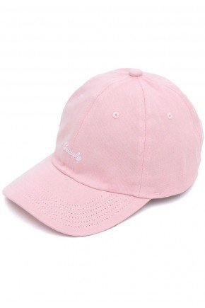 bone grizzly dad hat mini cursive strapback pink hyped 91