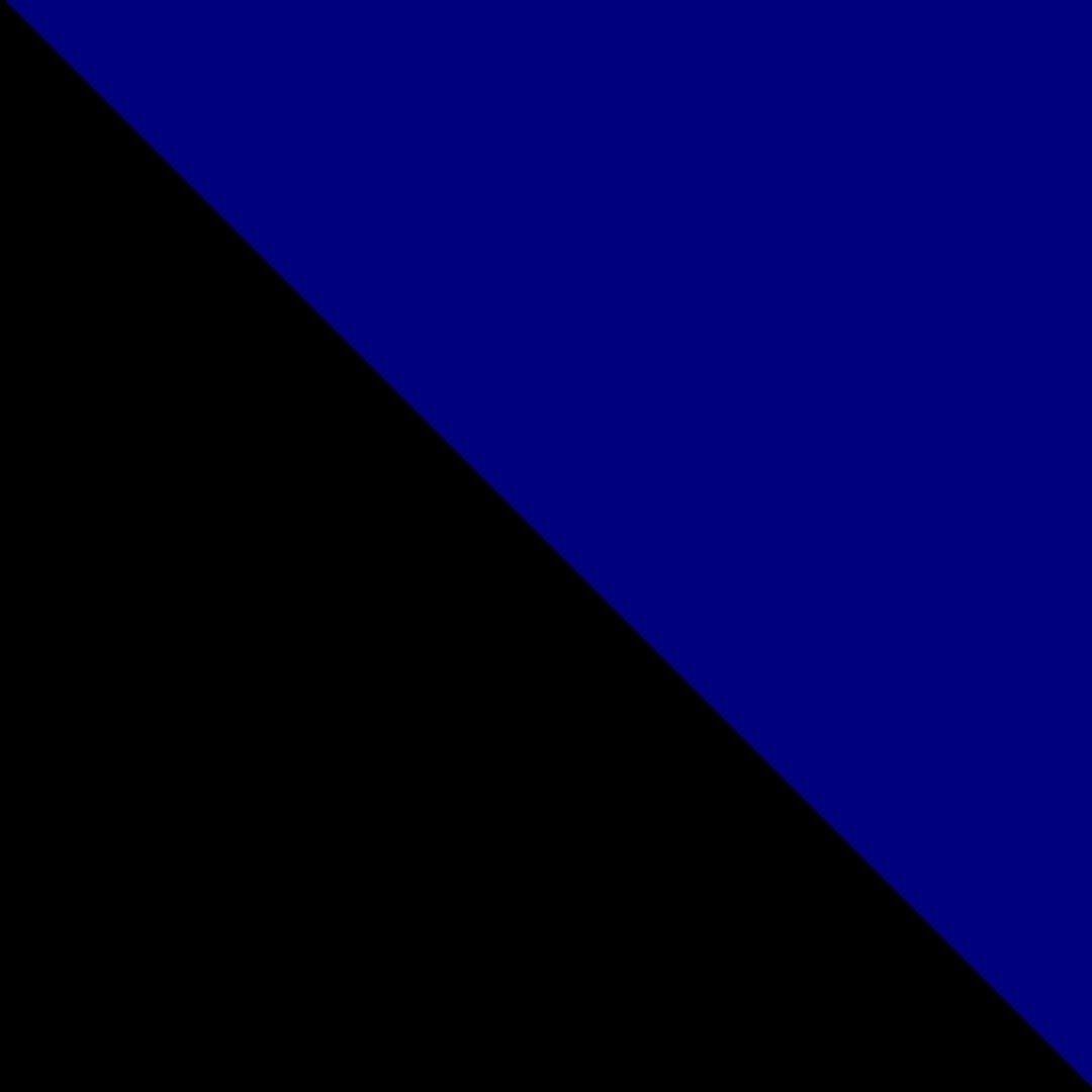 Preto/Azul Escuro