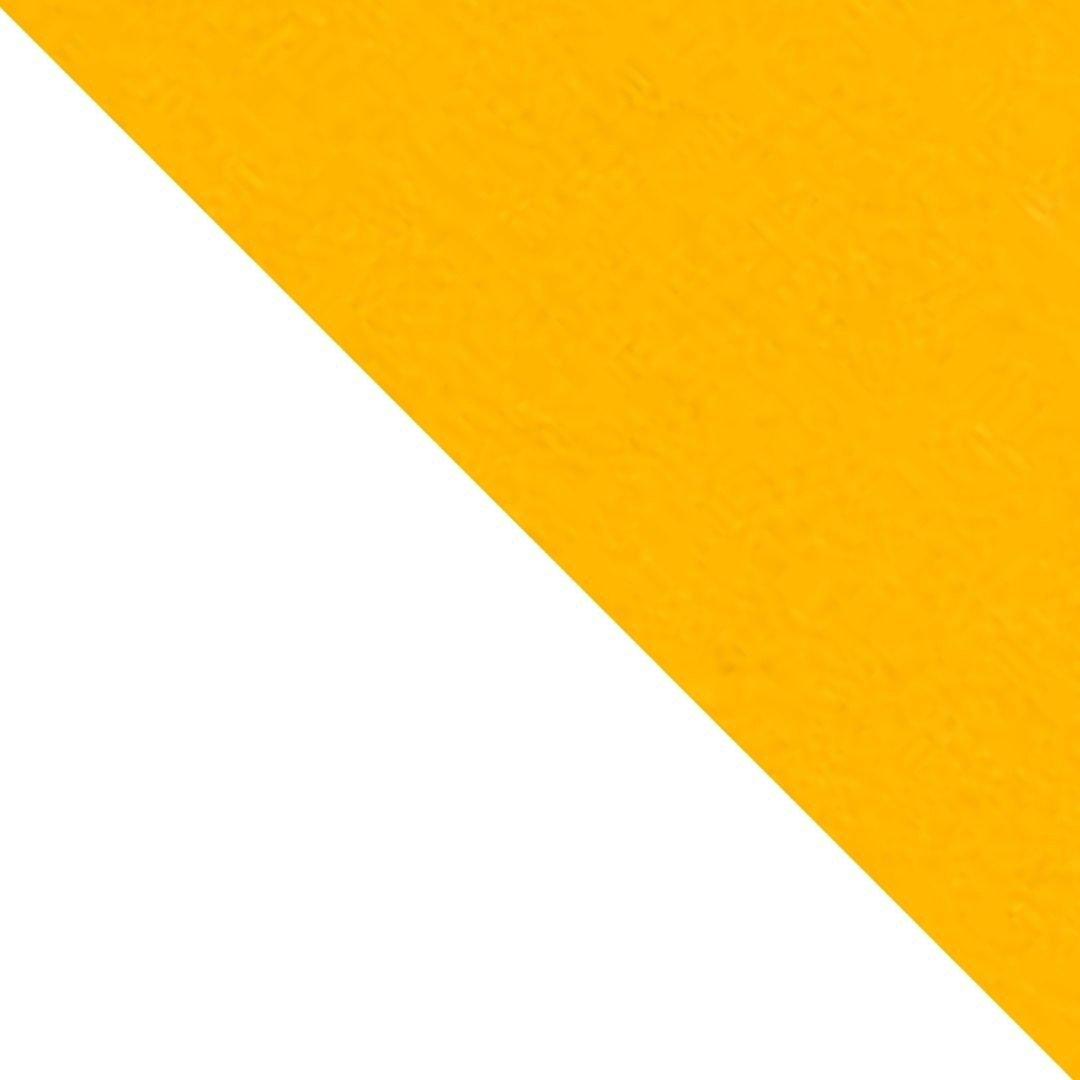Branco/Amarelo Escuro