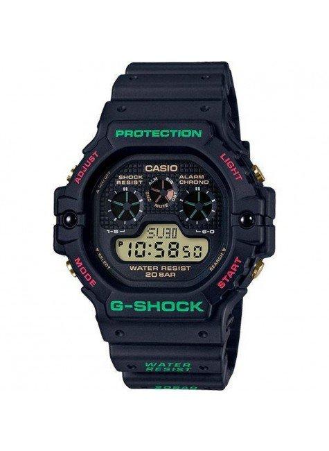 relogio casio g shock dw 5900th 1dr revival resistente a choques preto hyped 91