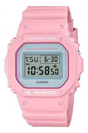 relogio feminino casio g shock digital dw 5600sc 4dr rosa hyped 91