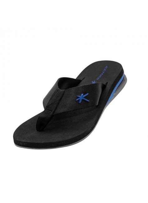 kenner sandalia chinelo kenner amp turbo preto azul hyped 91