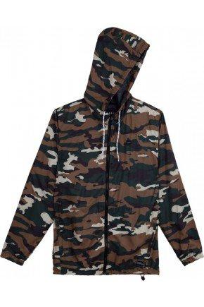 jaqueta corta vento oakley camuflado