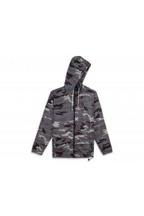 jaqueta corta vento oakley camuflado blackout