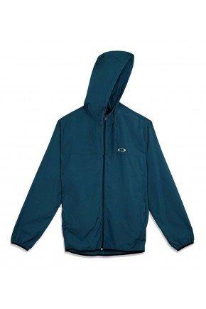 jaqueta oakley corta vento windbreaker azul escuro 3