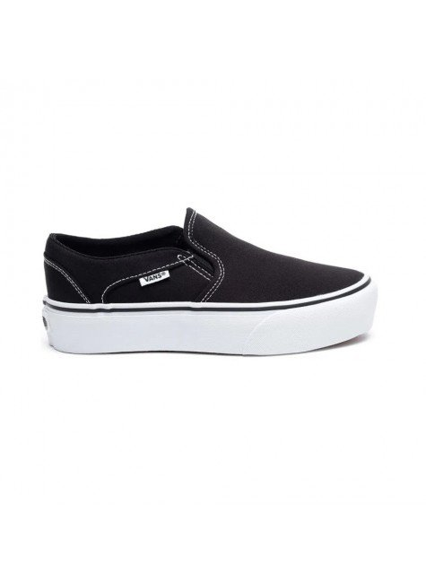 tenis vans wm asher platforma black white hyped 91 5