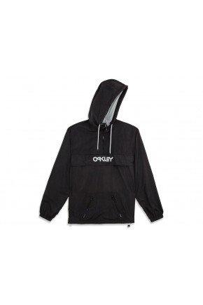 jaqueta corta vento oakley mark ii packable jacket jet black hyped 91