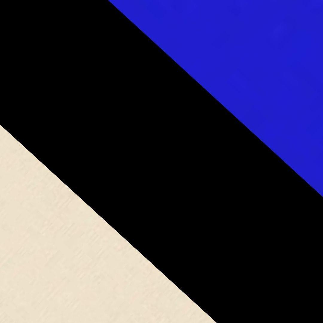 Preto/Azul/Bege