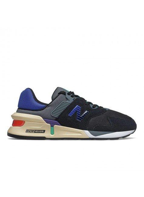 tenis new balance 997 sport casual masculino preto azul bege hyped 91