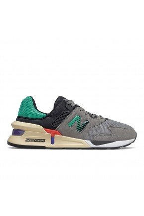 tenis new balance 997 sport casual masculino cinza verde bege hyped 91