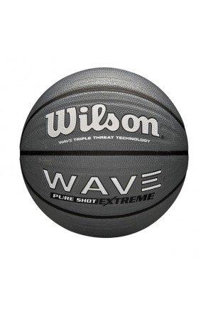 bola de basquete wilson wave phenom cinza escuro hyped 91