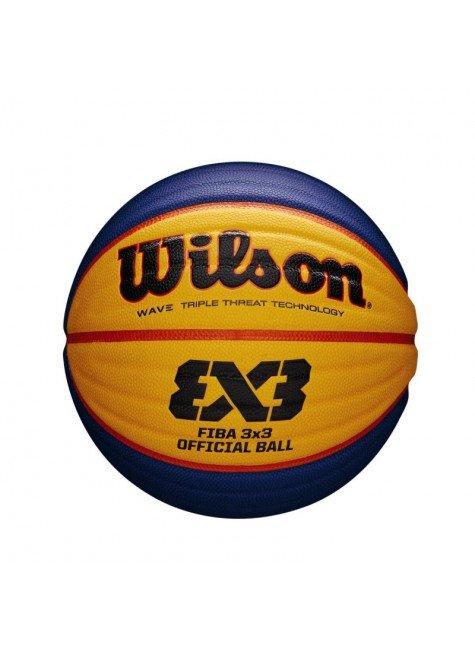 bola de basquete wilson fiba 3x3 oficial game azul amarelo hyped 91