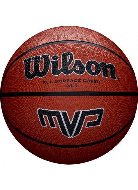 bola de basquete wilson larnja mvp n6 hyped 91