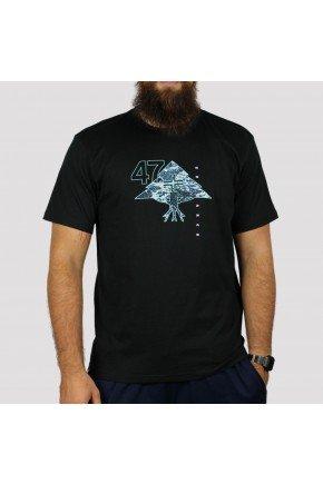 Camiseta LRG Mountain 47 preto   hyped 91