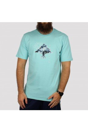 Camiseta LRG Mountain 47 azul claro   hyped 91