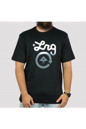 camiseta lrg logo cycle preta hyped 91