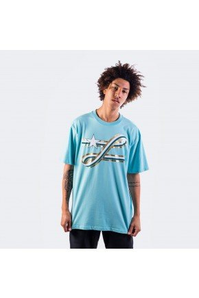 Camiseta LRG Ribbon Azul claro   hyped 91