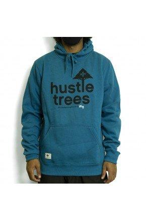 moletom lrg canguru fechado hustle trees verde escuro hyped 91